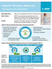 HySorb biomass balanced® one pager